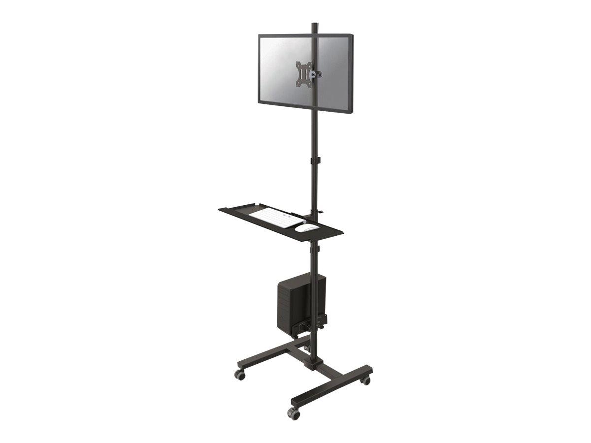 NewStar FPMA-MOBILE1700 - Wagen für LCD-Display / PC-Ausrüstung - Schwarz - Bildschirmgrösse: 25.4-81.3 cm (10