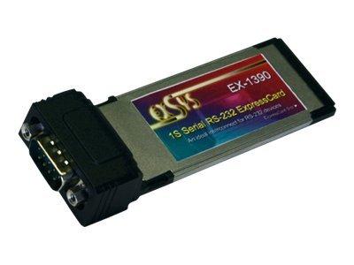 Exsys EX-1390 - Serieller Adapter - ExpressCard - RS-232/V.24