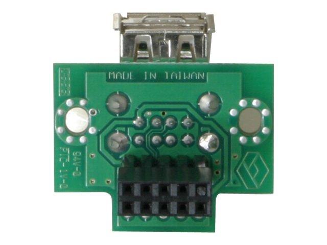 DeLOCK USB Pinheader - USB-Adapter - USB (W) bis 10 PIN IDC (W)