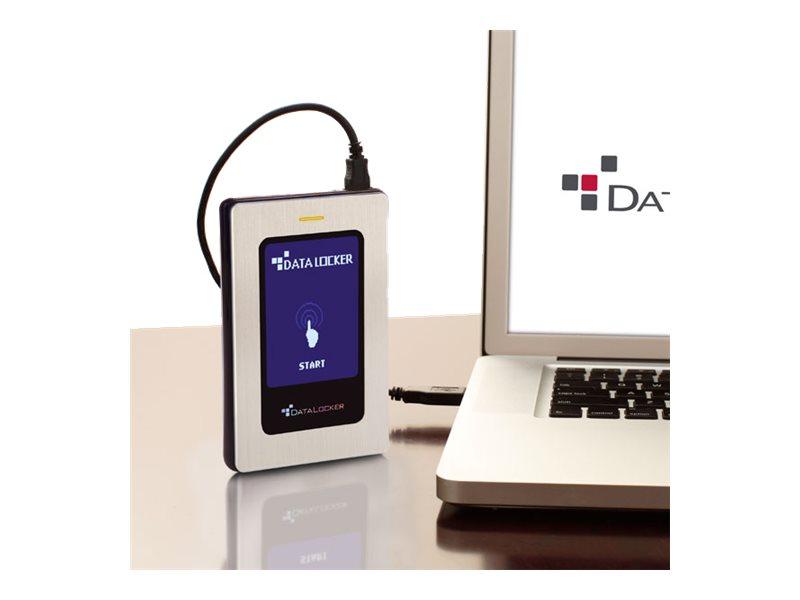 DataLocker DL3 FE (FIPS Edition) - Festplatte - verschlüsselt - 2 TB - extern (tragbar) - USB 3.0