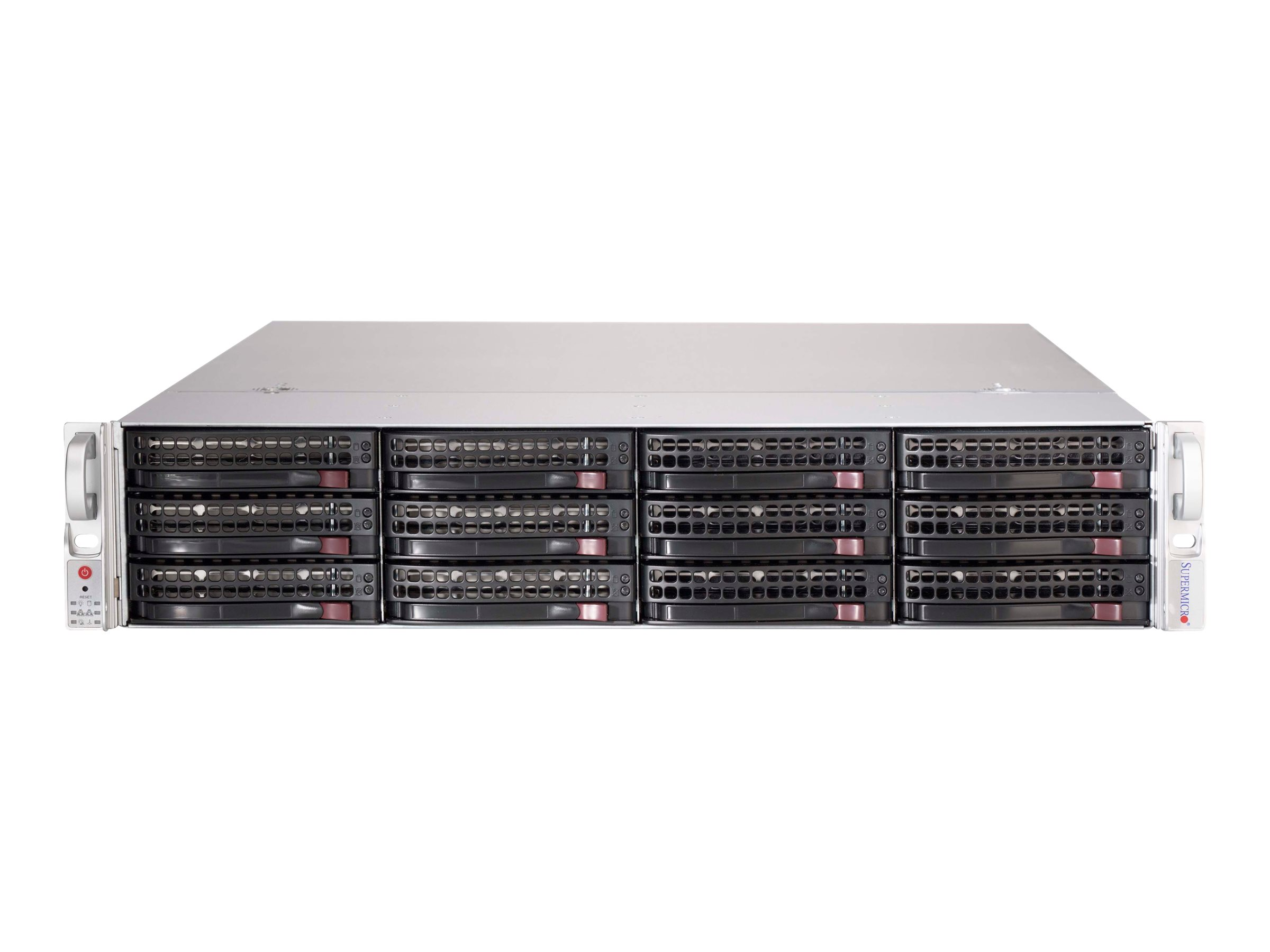 Supermicro SC826 BE1C-R741JBOD - Rack-Montage - 2U - SATA/SAS - Hot-Swap 740 Watt - Schwarz