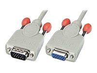 Lindy - VGA-Verlängerungskabel - HD-15 (VGA) (M) bis HD-15 (VGA) (W) - 5 m - geformt
