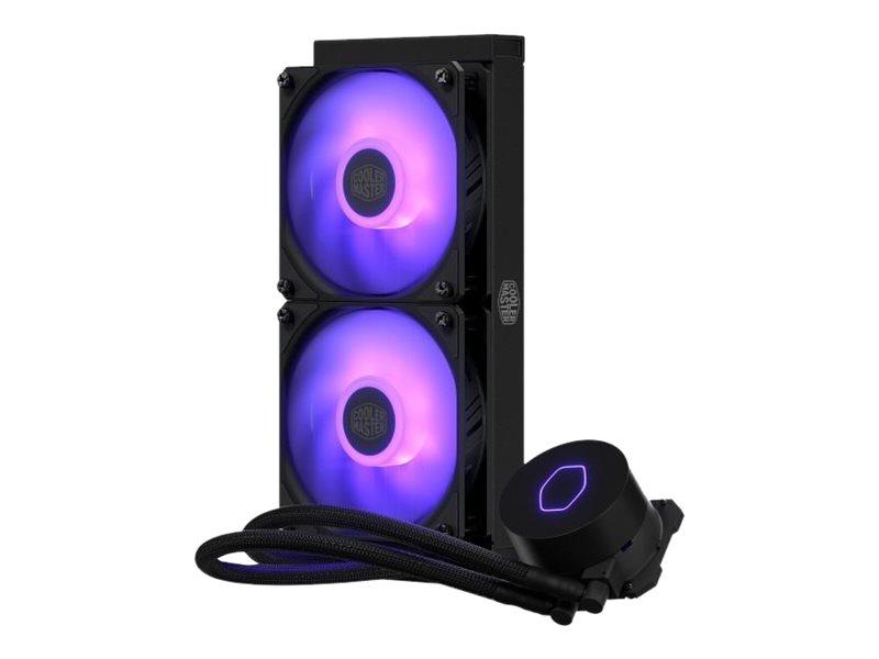 Cooler Master MasterLiquid ML240L V2 RGB - Prozessor-Flüssigkeitskühlsystem - (für: LGA1156, AM2, AM2+, LGA1366, AM3, LGA1155, A
