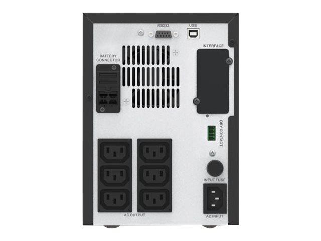 APC Easy-UPS SMV SMV1500CAI - USV - Wechselstrom 220/230/240 V - 1050 Watt - 1500 VA - 2 x 10 Ah