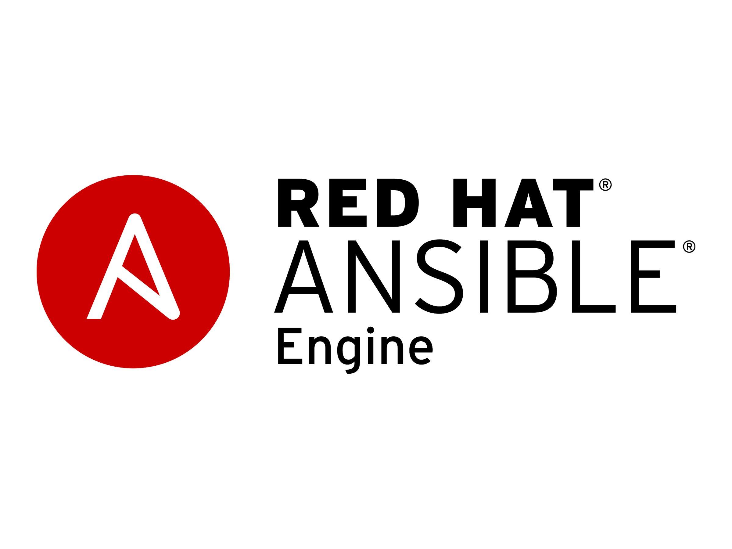 Red Hat Ansible Engine - Standardabonnement (1 Jahr) - 100 verwaltete Knoten - Linux