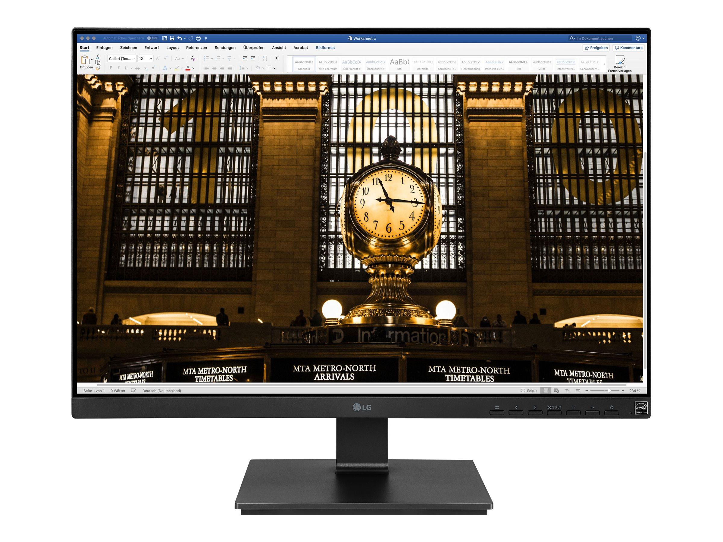 LG 25BL56WY-B - LED-Monitor - 63 cm (25