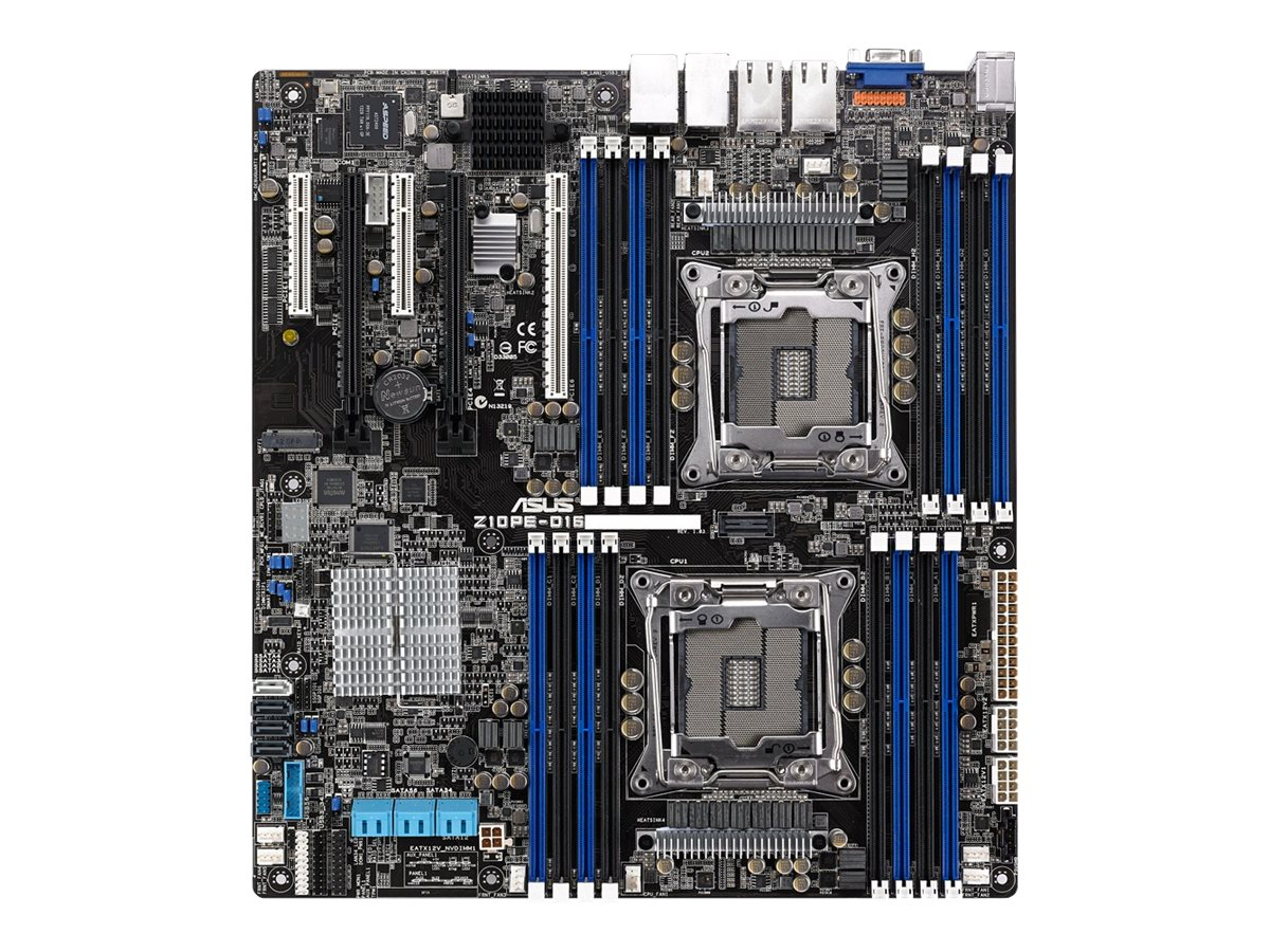 ASUS Z10PE-D16/4L - Motherboard - SSI EEB - LGA2011-v3-Sockel - 2 Unterstützte CPUs - C612