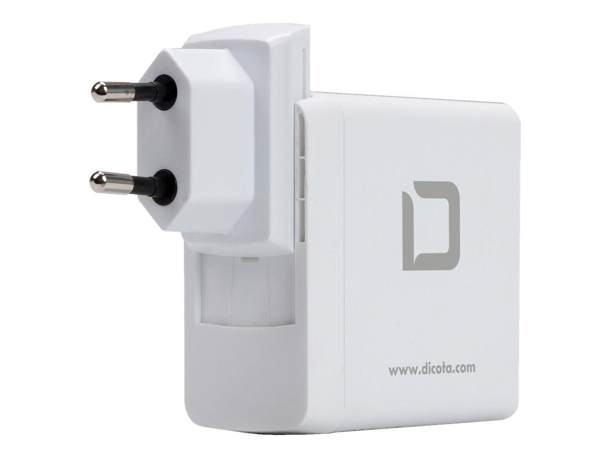DICOTA Universal Travel Notebook Charger USB-C - Netzteil - 45 Watt