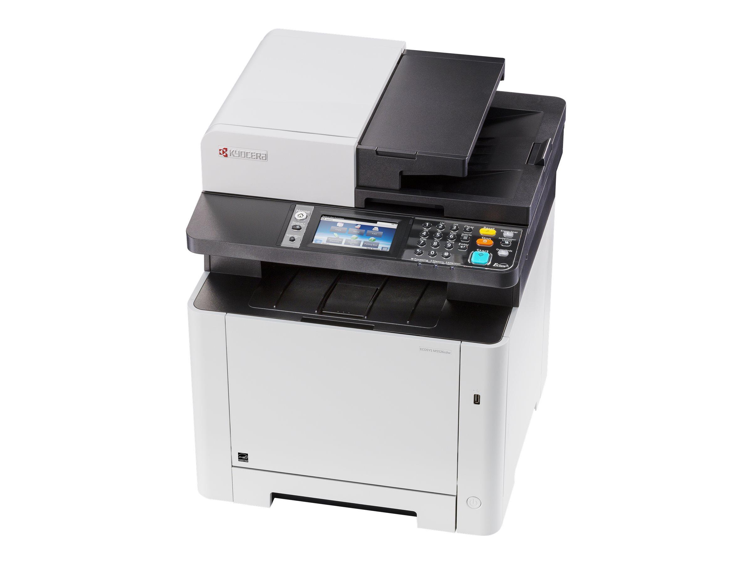 Kyocera ECOSYS M5526cdw - Multifunktionsdrucker - Farbe - Laser - Legal (216 x 356 mm)/A4 (210 x 297 mm) (Original) - A4/Legal (