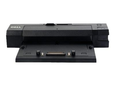 Dell E-Port II Advanced - Port Replicator - VGA, 2 x DVI, 2 x DP - 240 Watt - Italien - für Precision Mobile Workstation 3510, 7