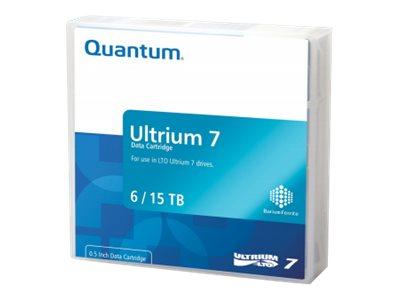 Quantum - 20 x LTO Ultrium 7 - 6 TB / 15 TB - Mit Strichcodeetikett - lila - Library Pack