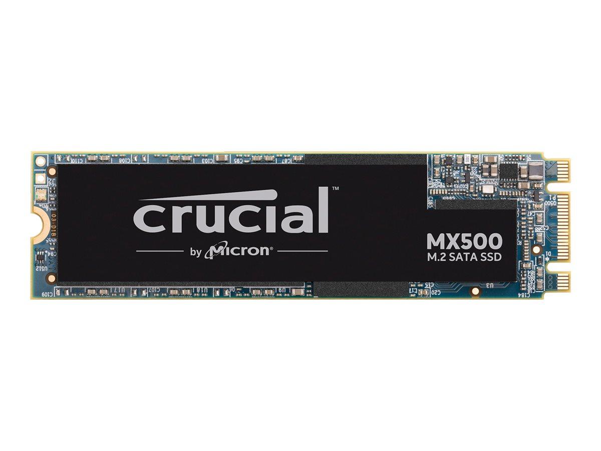 Crucial MX500 - Solid-State-Disk - verschlüsselt - 500 GB - intern - M.2 2280