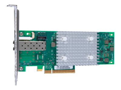 HPE StoreFabric SN1600Q 32Gb Single Port - Hostbus-Adapter - PCIe 3.0 x8 Low-Profile - 32Gb Fibre Channel x 1