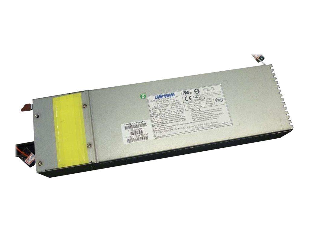 Supermicro PWS-1K81P-1R - Stromversorgung (Rack - einbaufähig) - 80 PLUS Platinum - Wechselstrom 100-240 V - 1800 Watt