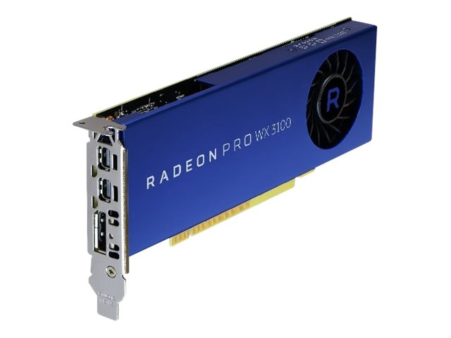 AMD Radeon Pro WX 3100 - Grafikkarten - Radeon Pro WX 3100 - 4 GB - 2 x Mini DisplayPort, DisplayPort - für Precision 5820 Tower