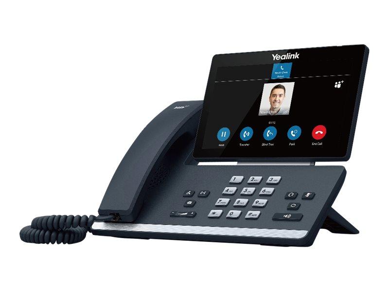 Yealink T58A - Skype for Business Edition - VoIP-Telefon - mit Bluetooth-Schnittstelle mit Rufnummernanzeige - SIP, SIP v2, SRTP