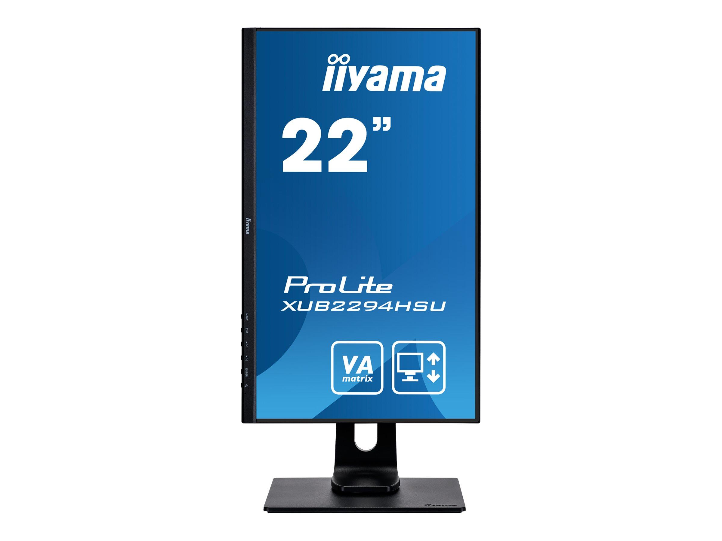 iiyama ProLite XUB2294HSU-B1 - LED-Monitor - 55.9 cm (22