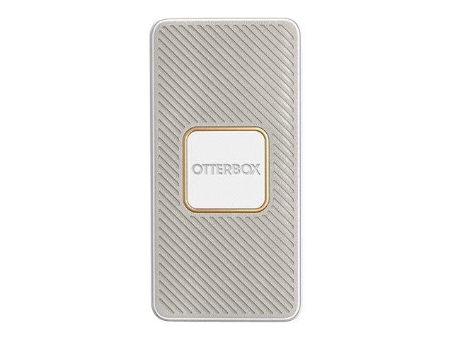 OtterBox Standard - Induktive Power Bank - 15000 mAh - 18 Watt - 3 A - Apple Fast Charge, Huawei Fast Charge, PE 2.0+, PD 3.0, Q