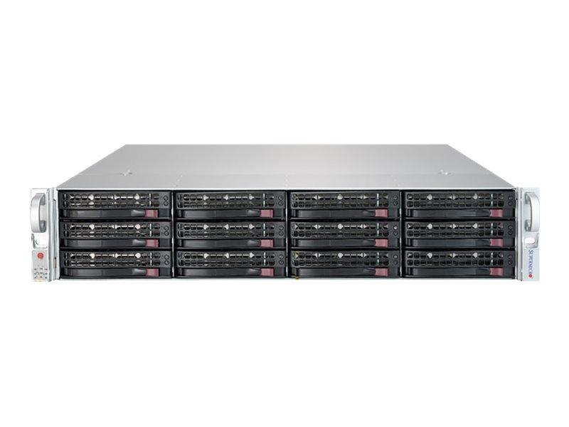 Supermicro SuperStorage Server 5029P-E1CTR12L - Server - Rack-Montage - 2U - 1-Weg - RAM 0 GB