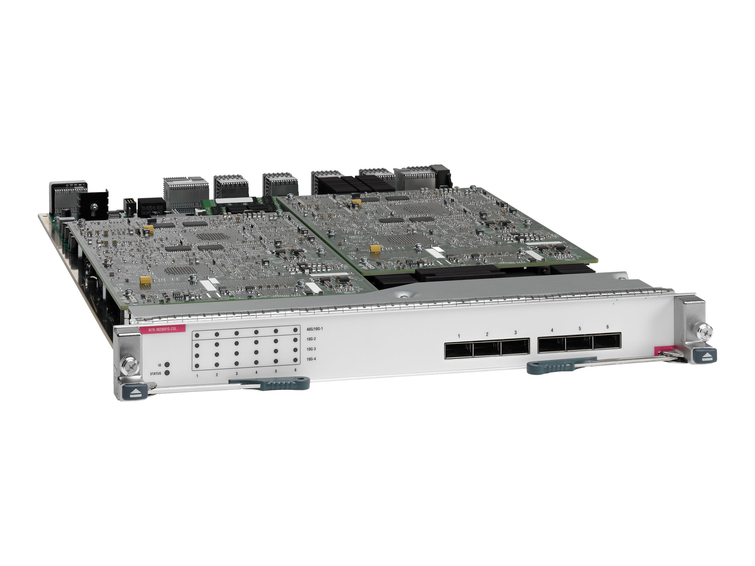 Cisco Nexus 7000 M2-Series 6 Port 40 GbE with XL Option - Switch - 6 x 40 Gigabit QSFP+ - Plugin-Modul