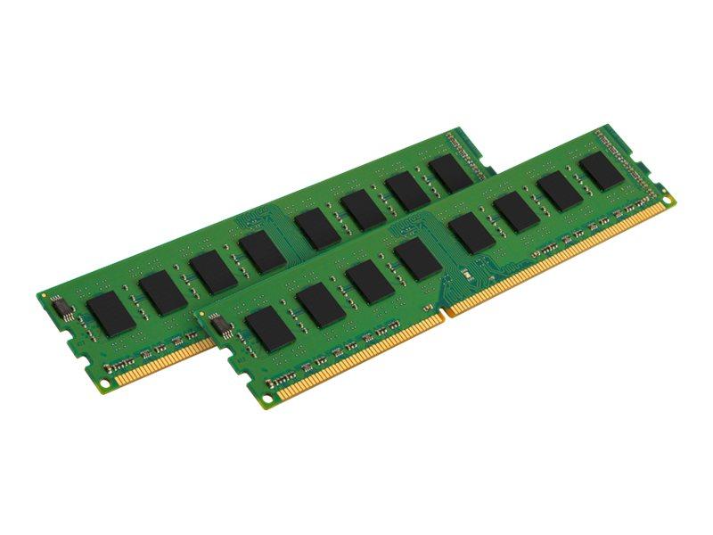 Kingston ValueRAM - DDR3 - 8 GB: 2 x 4 GB - DIMM 240-PIN - 1600 MHz / PC3-12800 - CL11