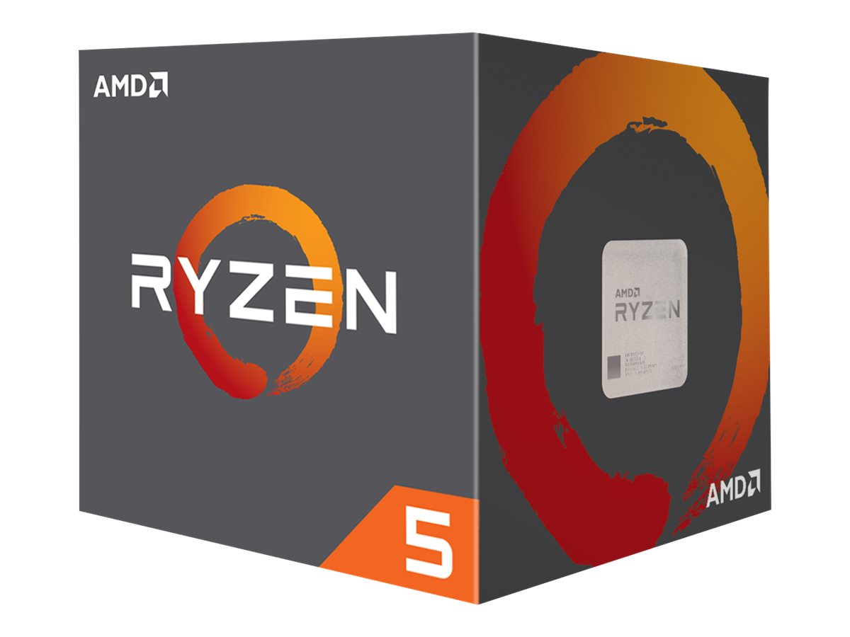AMD Ryzen 5 2600X - 3.6 GHz - 6 Kerne - 12 Threads - 16 MB Cache-Speicher - Socket AM4