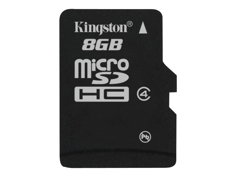 Kingston - Flash-Speicherkarte - 8 GB - Class 4 - microSDHC