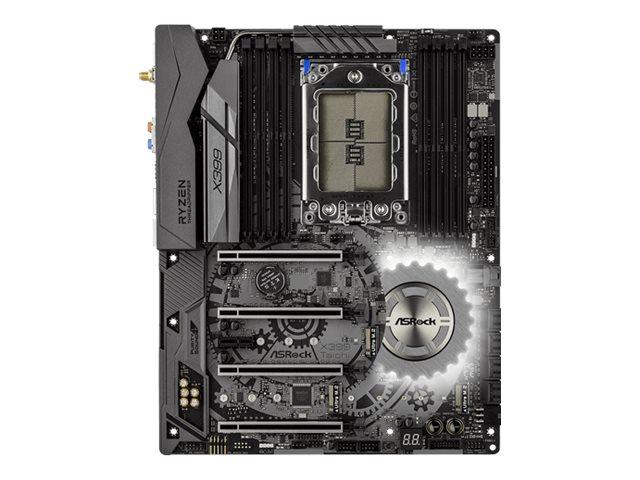 ASRock X399 TAICHI - Motherboard - ATX - Socket TR4 - AMD X399 - USB-C, USB 3.1 Gen 1, USB 3.1 Gen 2
