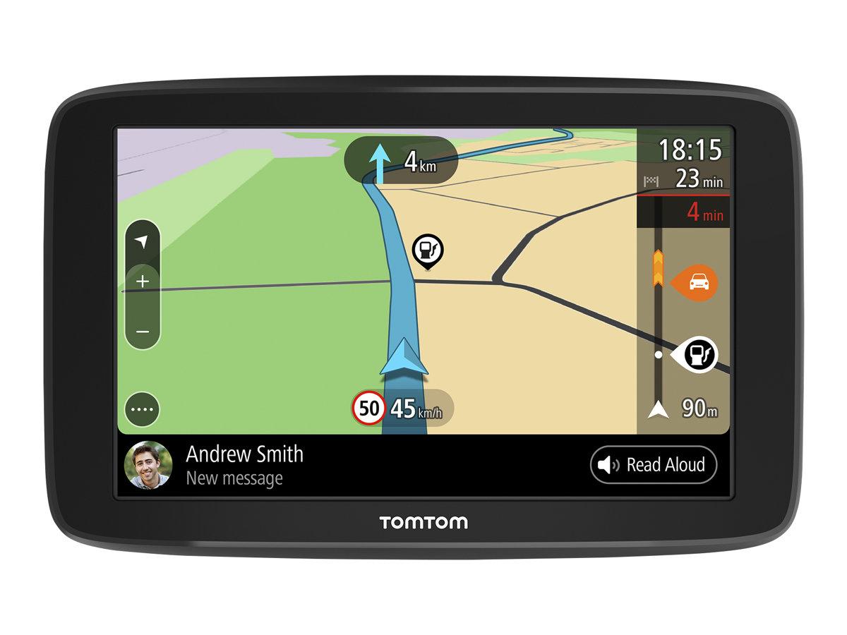 TomTom GO Basic - GPS-Navigationsgerät - Kfz 6 Zoll Breitbild