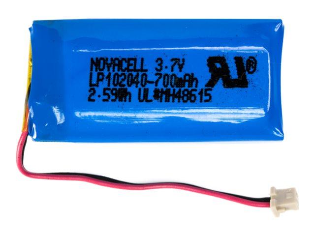 Socket - Handheld-Batterie Lithium-Ionen 700 mAh (Packung mit 5) - für Cordless Hand Scanner (CHS) 7Qi, 7X, 7Xi, 7XiRx, 7XRx