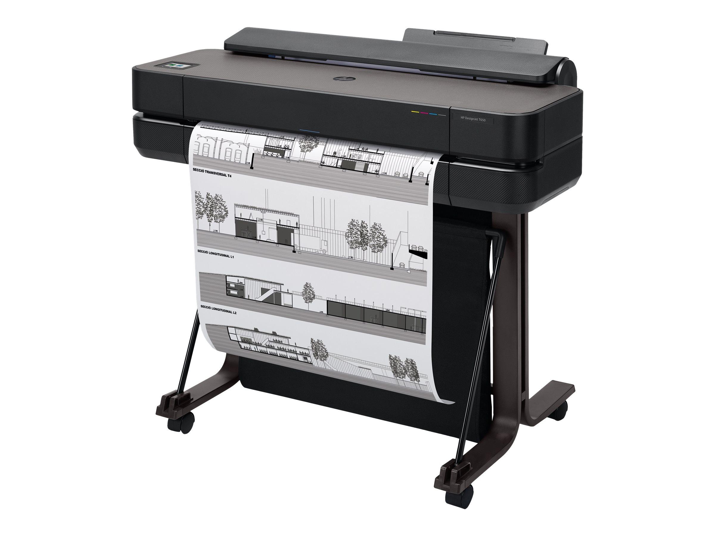 HP DesignJet T650 - 610 mm (24