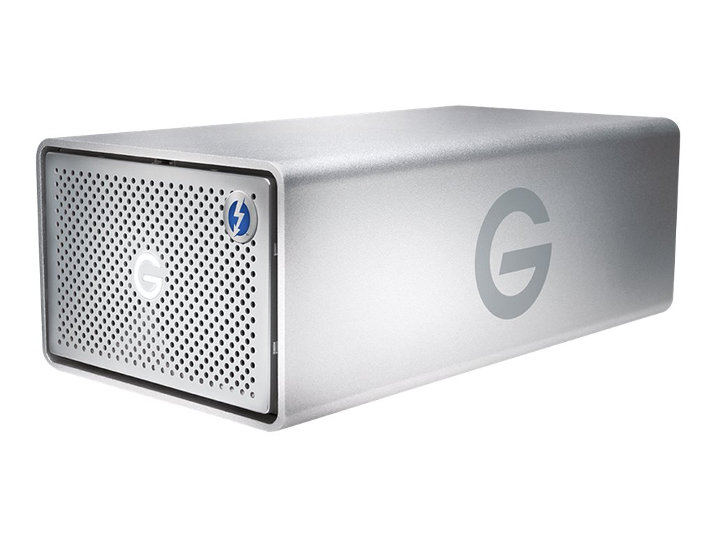 G-Technology G-RAID Removable GRARTH2EB80002BAB - Festplatten-Array - 8 TB - 2 Schächte (SATA-600) - HDD 4 TB x 2 - USB 3.0, Thu