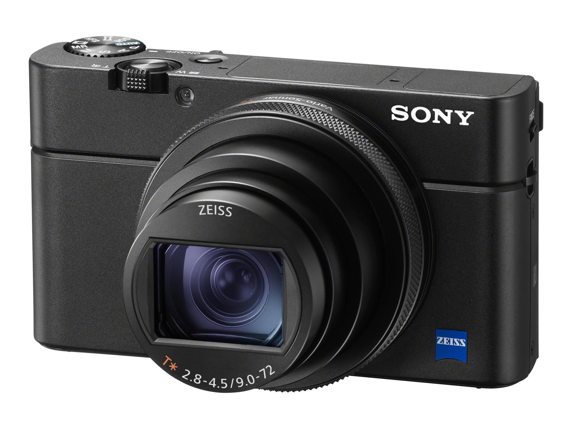 Sony RX100 VI - Digitalkamera - Kompaktkamera - 20.1 MPix - 4K / 30 BpS - 8x optischer Zoom