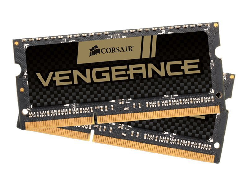CORSAIR Vengeance - DDR3 - 8 GB: 2 x 4 GB - SO DIMM 204-PIN - 1600 MHz / PC3-12800 - CL9