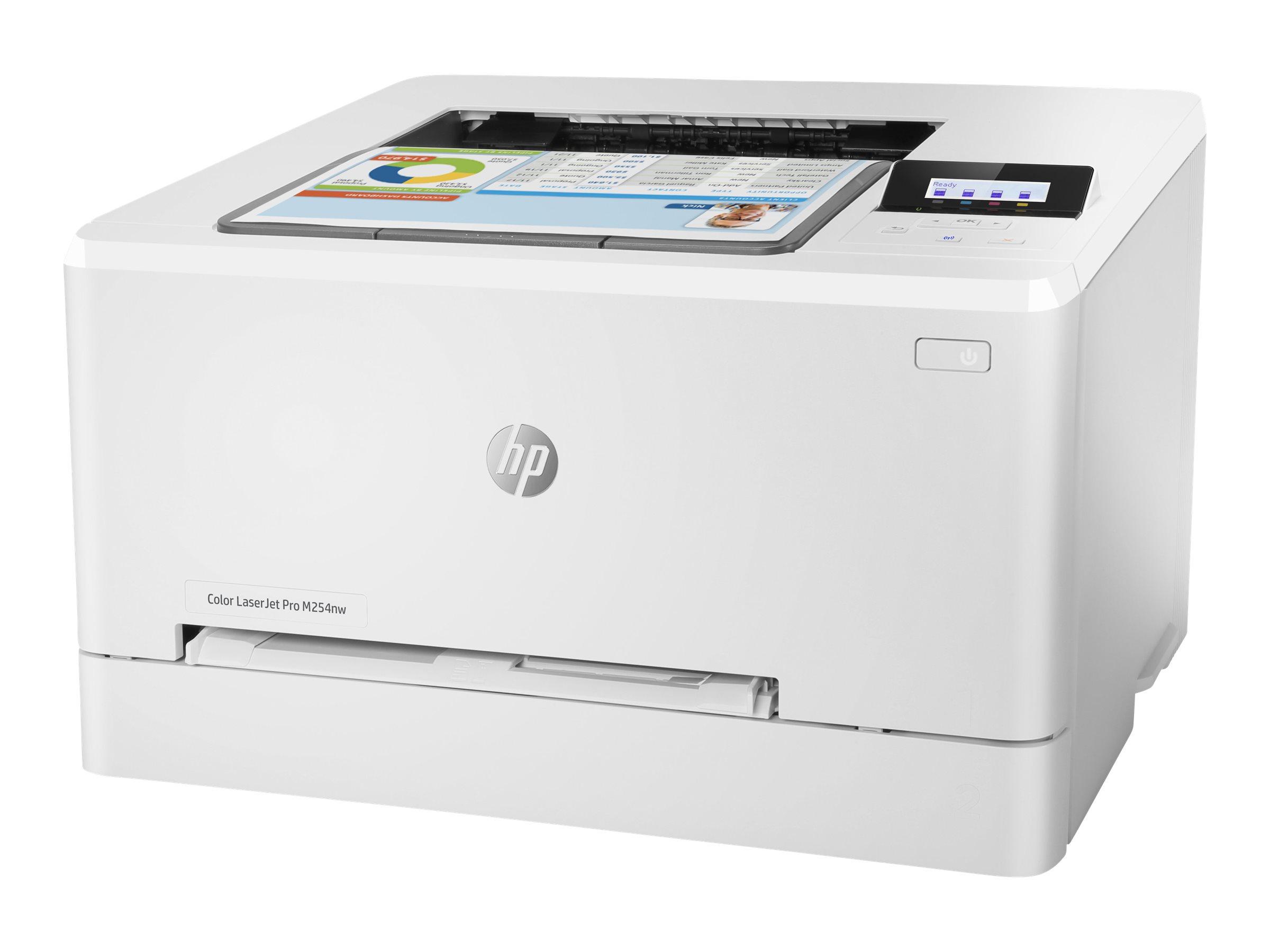 HP Color LaserJet Pro M254nw - Drucker - Farbe - Laser - A4/Legal - 600 x 600 dpi