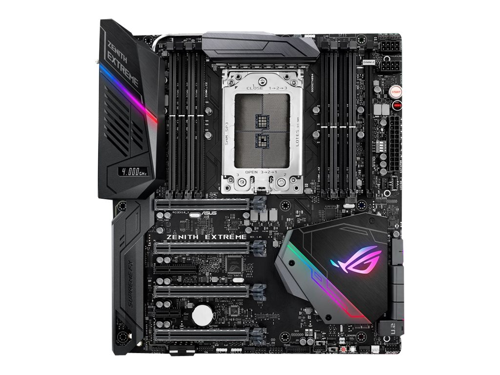 ASUS ROG ZENITH EXTREME - Motherboard - Erweitertes ATX - Socket TR4 - AMD X399 - USB 3.1 Gen 1, USB-C Gen2, USB 3.1 Gen 2