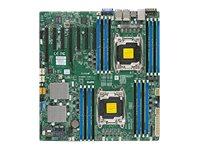 SUPERMICRO X10DRH-CLN4 - Motherboard - Erweitertes ATX - LGA2011-v3-Sockel - 2 Unterstützte CPUs - C612