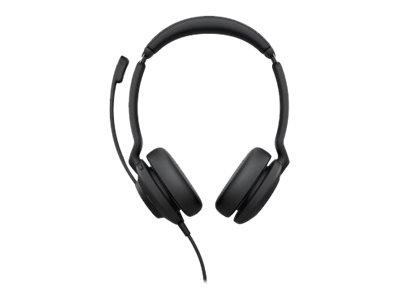 Jabra Evolve2 30 MS Stereo - Headset - On-Ear - kabelgebunden - USB-A - Zertifiziert für Microsoft Teams