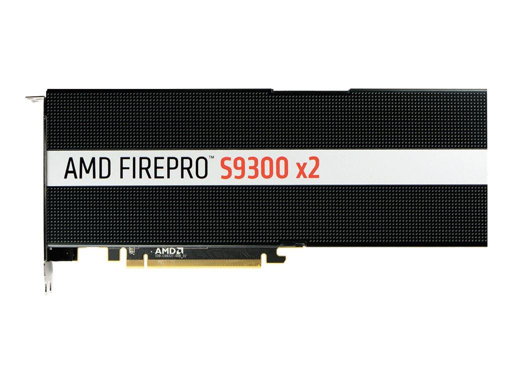 AMD FirePro S9300 x2 - Grafikkarten - 2 GPUs - FirePro S9300 - 8 GB HBM - PCIe 3.0 x16