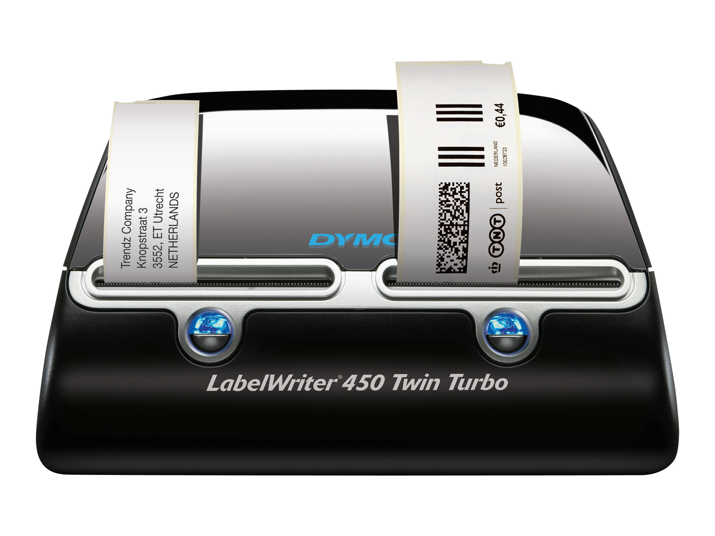 DYMO LabelWriter 450 Twin Turbo - Etikettendrucker - Thermodirekt - Rolle (6,2 cm) - 600 x 300 dpi - bis zu 71 Etiketten/Min.
