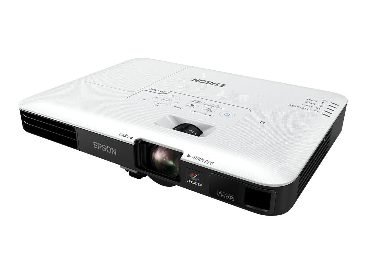 Epson EB-1795F - 3-LCD-Projektor - tragbar - 3200 lm (weiss) - 3200 lm (Farbe) - Full HD (1920 x 1080)