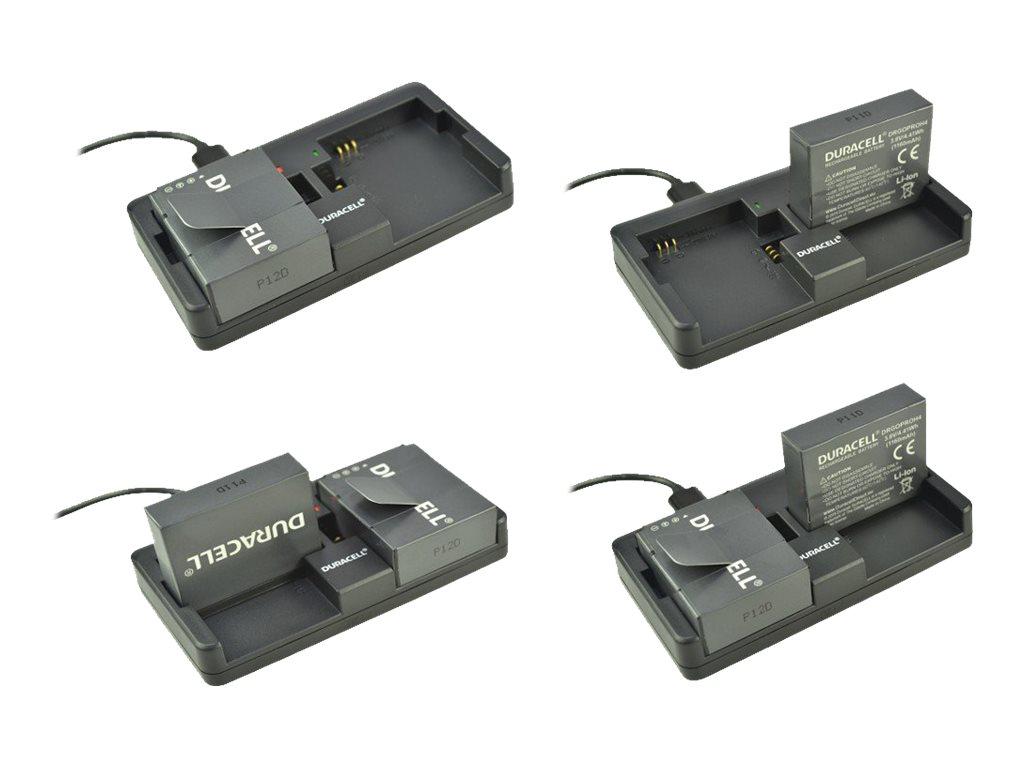 Duracell - Adapter für Batterieladegerät - 2 Ausgabeanschlussstellen