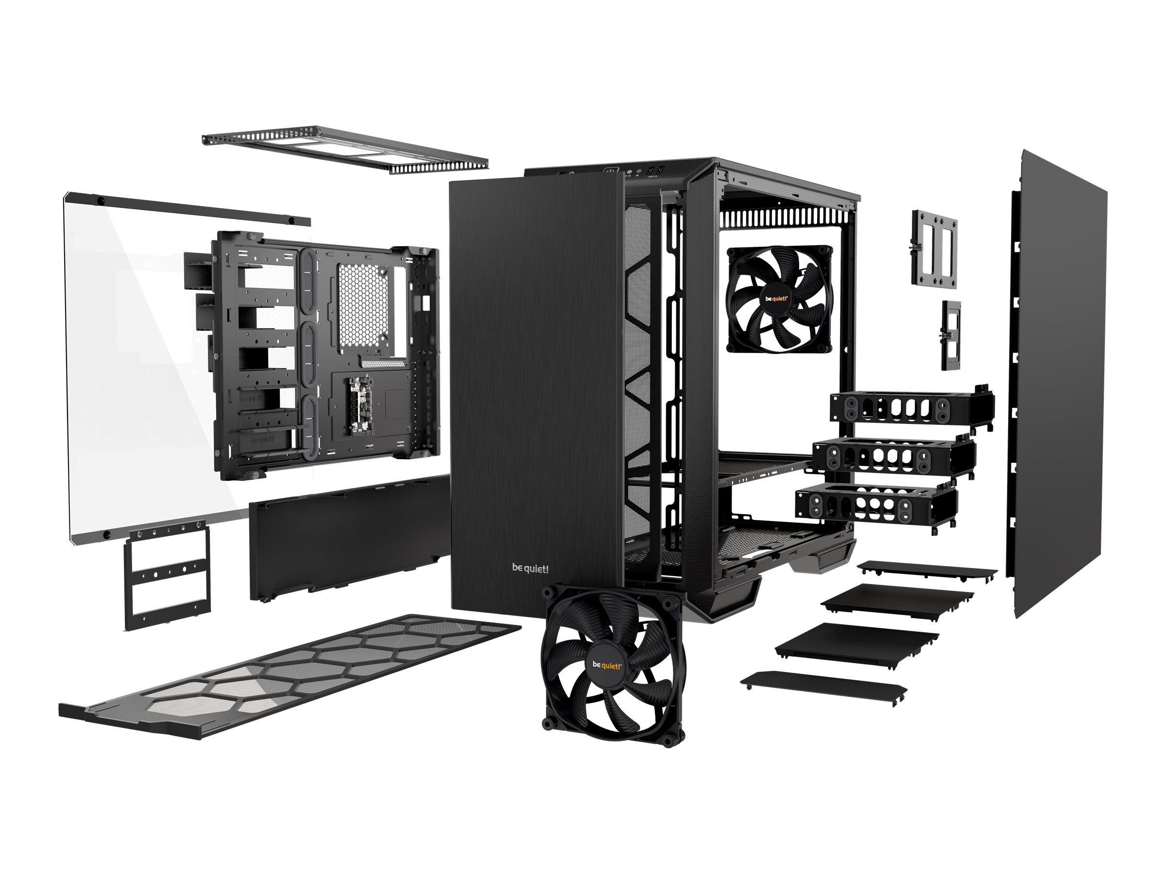 be quiet! Dark Base 700 - Tower - Erweitertes ATX - ohne Netzteil (ATX / PS/2) - USB/Audio