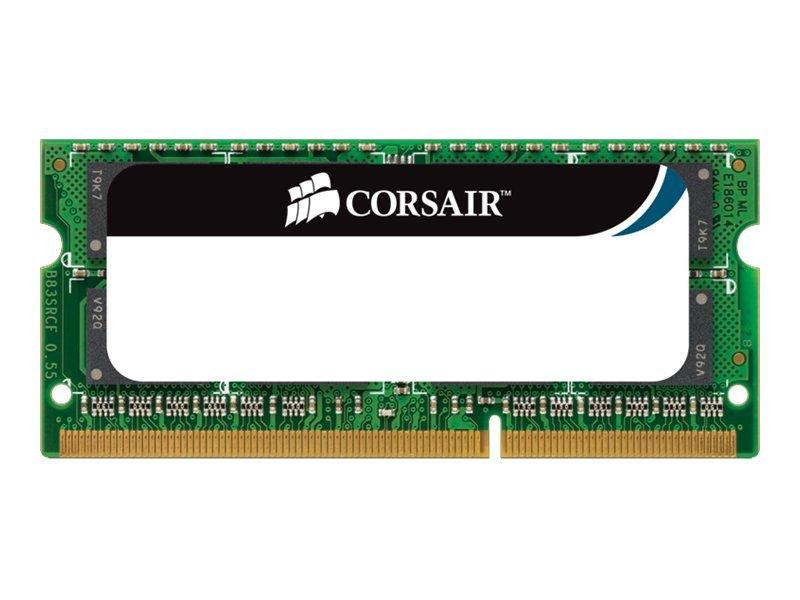 CORSAIR Mac Memory - DDR3 - 8 GB: 2 x 4 GB - SO DIMM 204-PIN - 1066 MHz / PC3-8500 - CL7