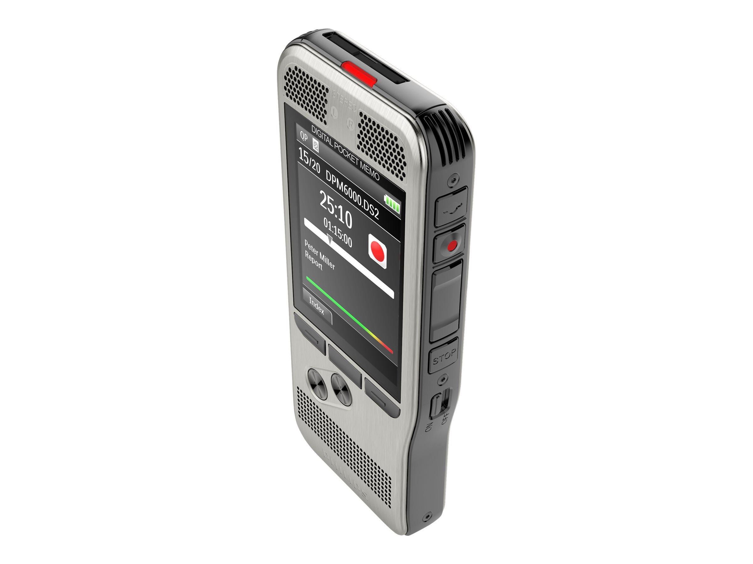 Philips Digital Pocket Memo DPM6000 - Voicerecorder