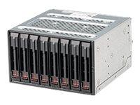 Supermicro Mobile Rack M28SACB - Gehäuse für Speicherlaufwerke mit Lüfter - 2.5