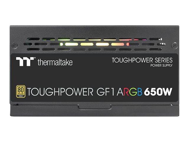 Thermaltake ToughPower GF1 ARGB 650W - TT Premium Edition - Stromversorgung (intern) - ATX12V - 80 PLUS Gold - 650 Watt