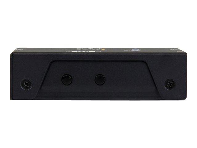 StarTech.com DisplayPort Signalverstärker - DP Extender - Displayport Signal Verstärker - 4K 60Hz - 20m - Erweiterung für Video/