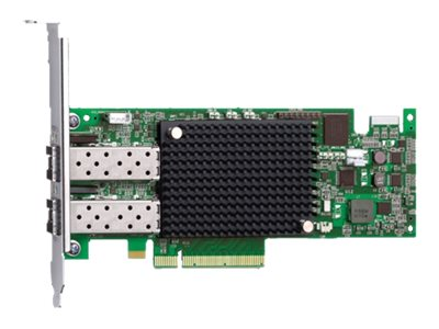 Emulex LightPulse LPe16002 - Hostbus-Adapter - PCIe 2.0 x8 Low-Profile - 16Gb Fibre Channel x 2 - für PRIMERGY CX2550 M1, RX2510
