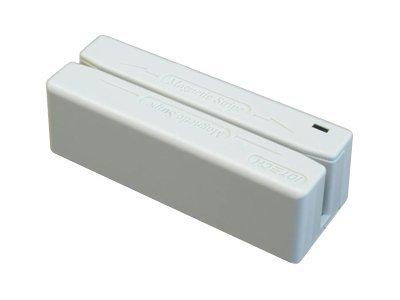 ID TECH MiniMag II - Magnetkartenleser (Spuren 1, 2 & 3) - RS-232 - beige